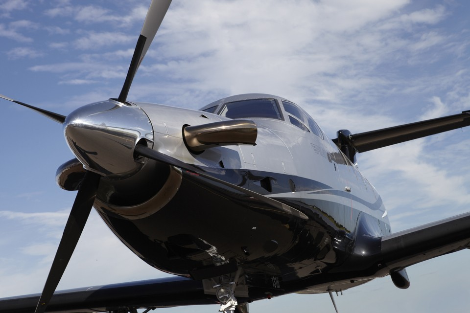Socata TBM 850 turboprop aircraft