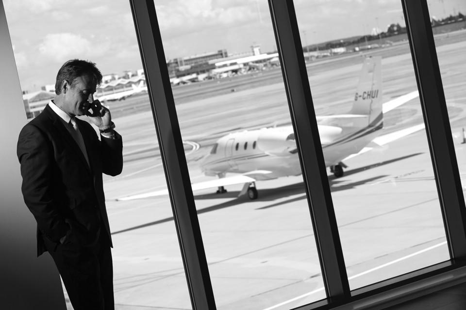 Cello aviation departure lounge
