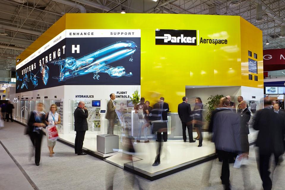 Parker Aerospace Le Bourget 2013