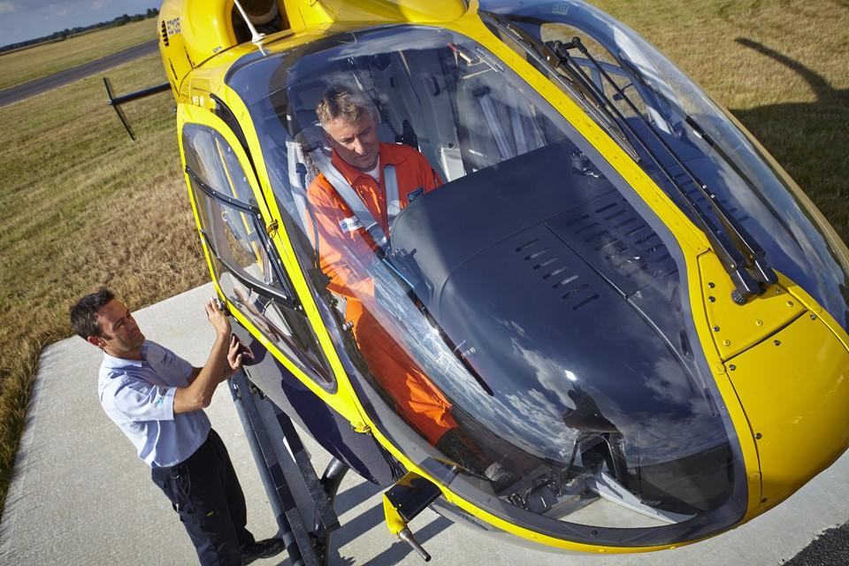 Eurocopter EC 145 back into service