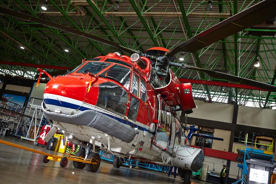 Eurocopter at CHC Aberdeen