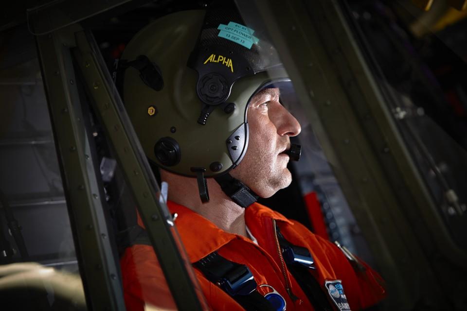 Helicopter Pilot Super Puma