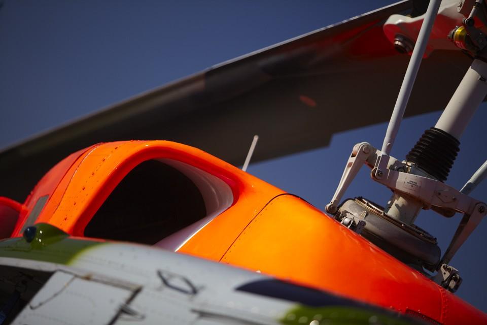 Bell 212 Intake Duxford