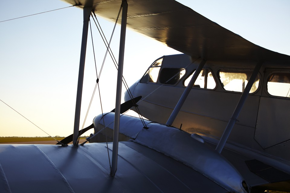 De Havilland Dragon Rapide. Aer Lingus owned and the oldest flying Dragon
