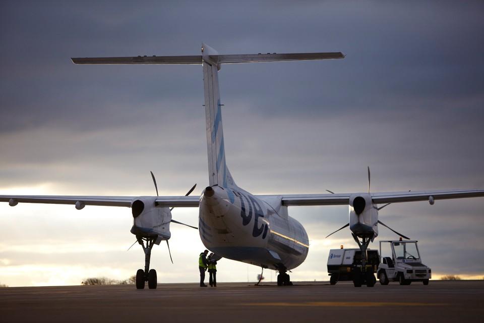 Flybe ATR Departure