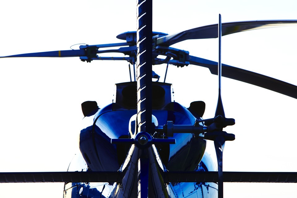 Eurocopter AS 355s Twin Squirrel Helicopter Silhouette