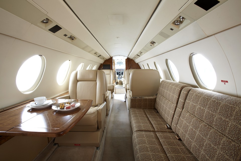 Dassault Falcon 50EX Interior