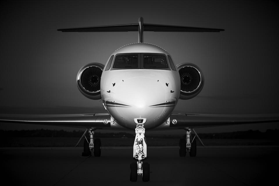 Gulfstream G550 Night