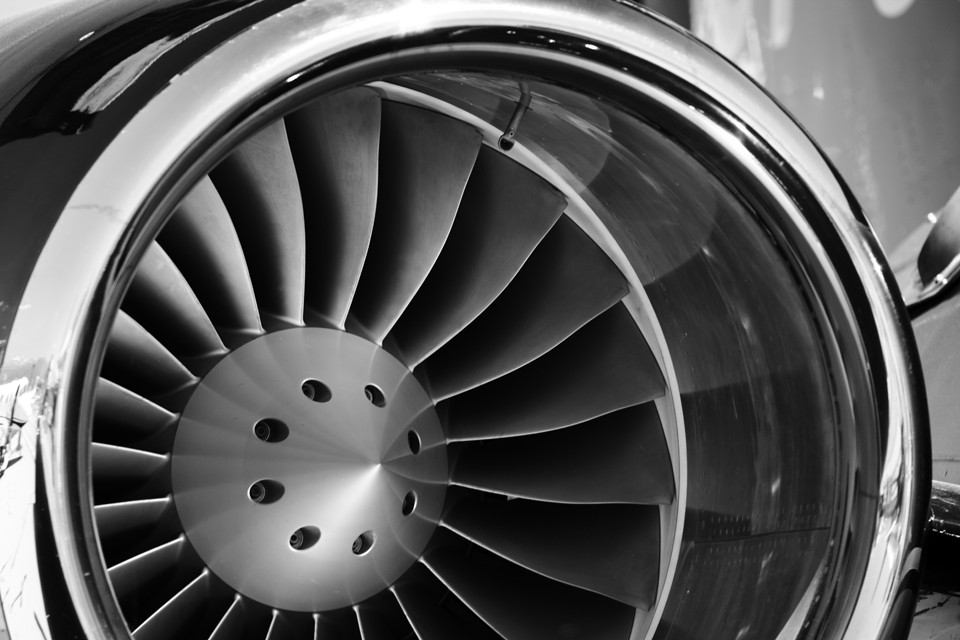 Business Jet Engine
