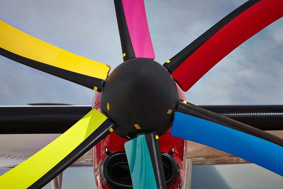 Atr Spectrum coloured propeller