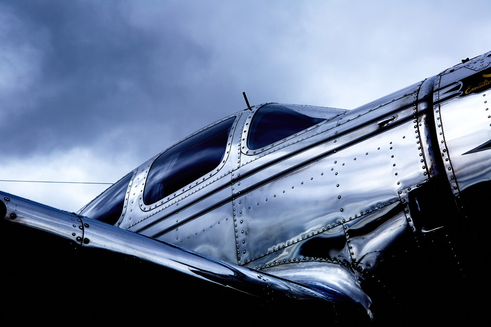 Spartan Executive 1930's business aircraft at Fairford 2014
