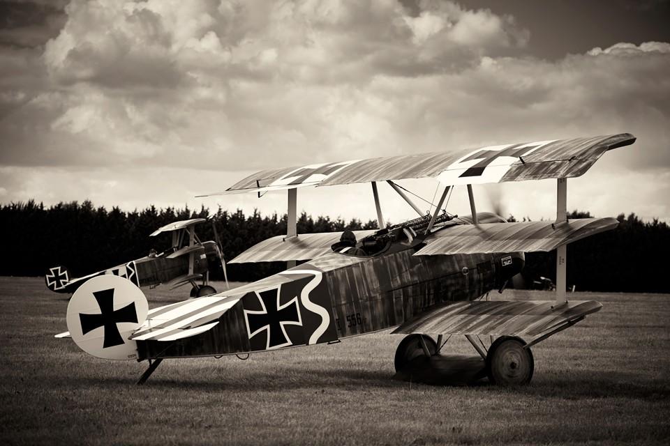 Fokker DR1 Worlrd War One fighter aircraft