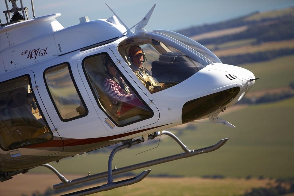 Bell 407 Air to air