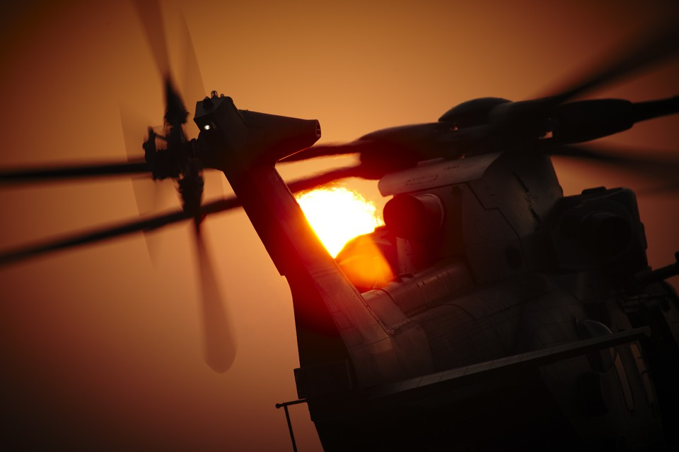 Agusta Westland Merlin HC.3 Military Helicopter
