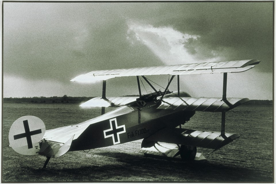 Fokker Dr1 Triplane WW1 fighter aircraft