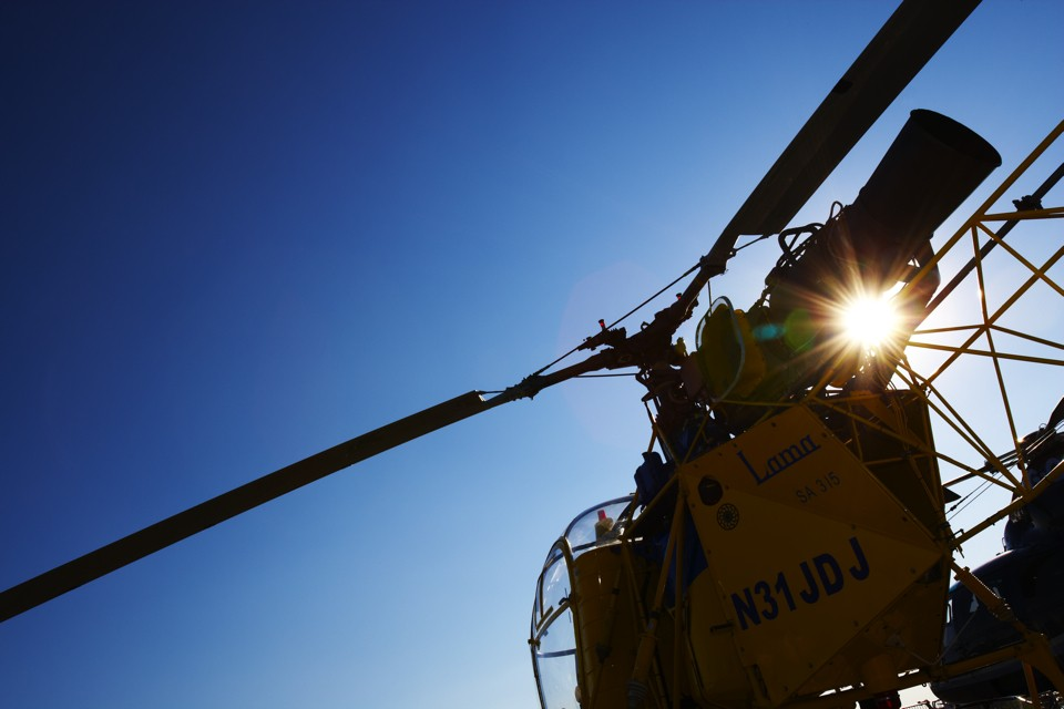 Aerospatiale SA 315B Lama Helicopter