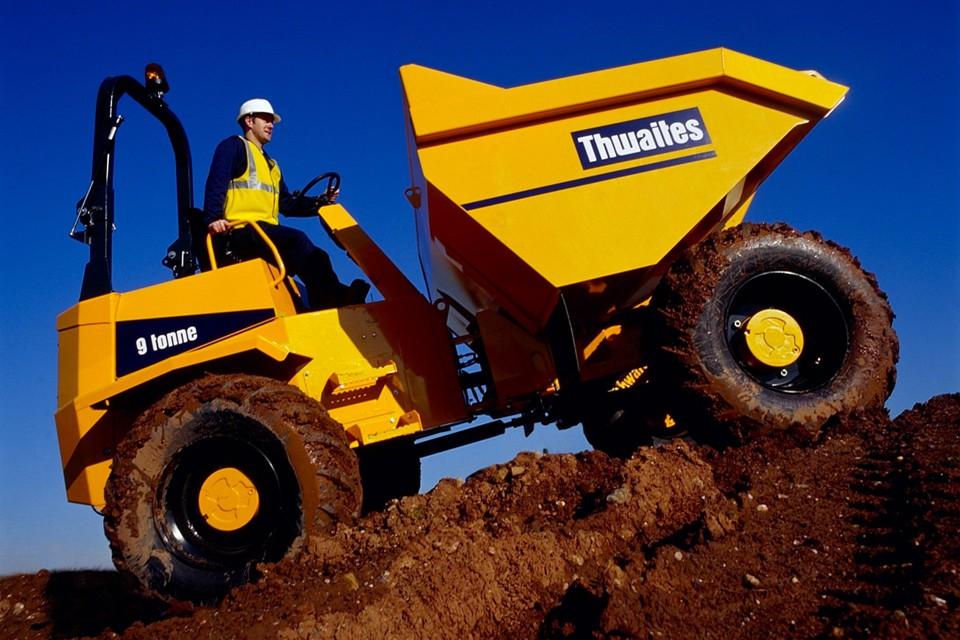 Thwaites materials handling equipment