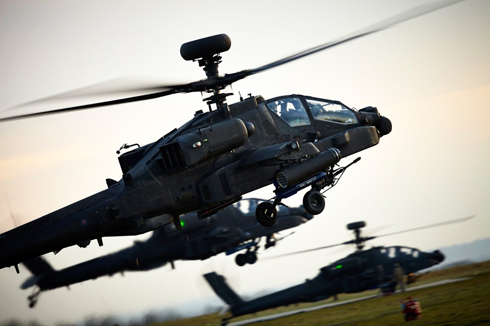 Boeing AH1 Longbow Apache Attack Helicopter