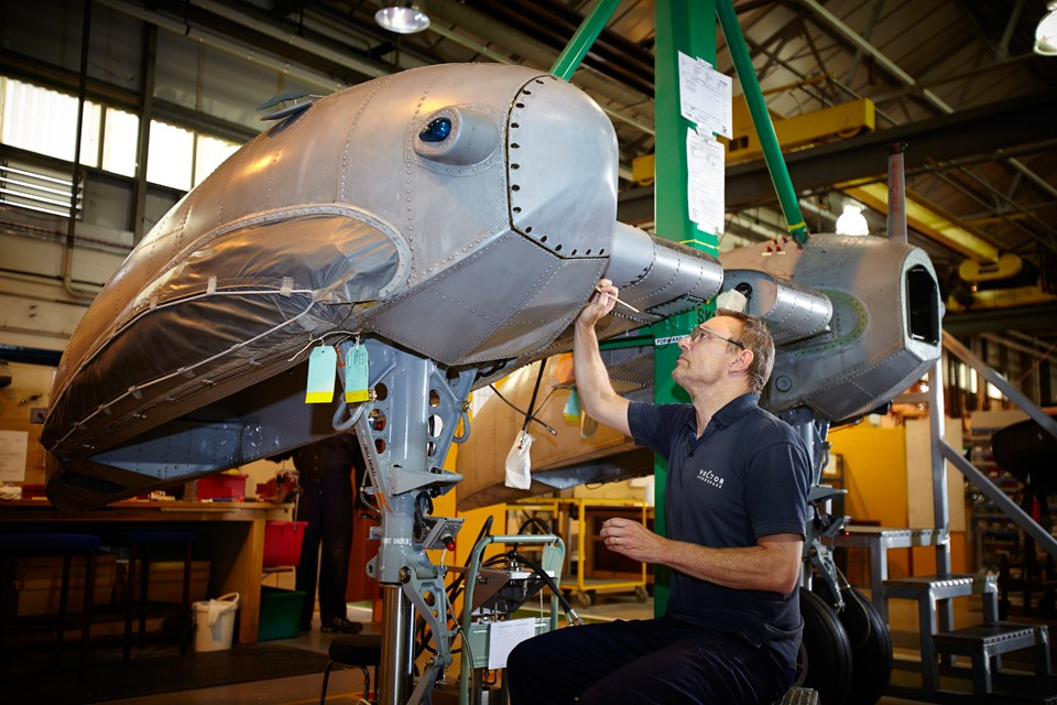 Westland Sea king repairs