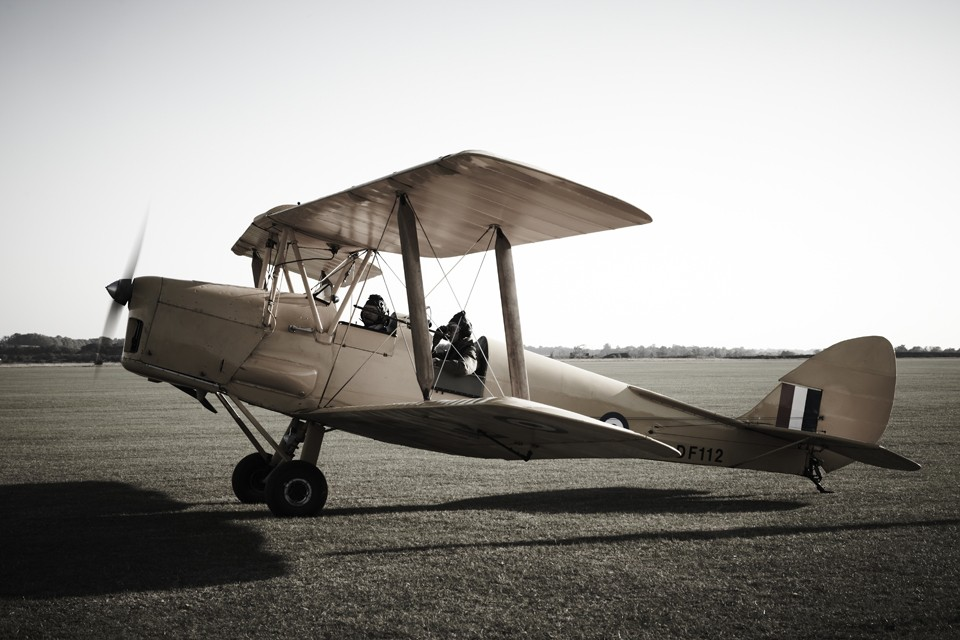 De Havilland Tiger Moth Duxford