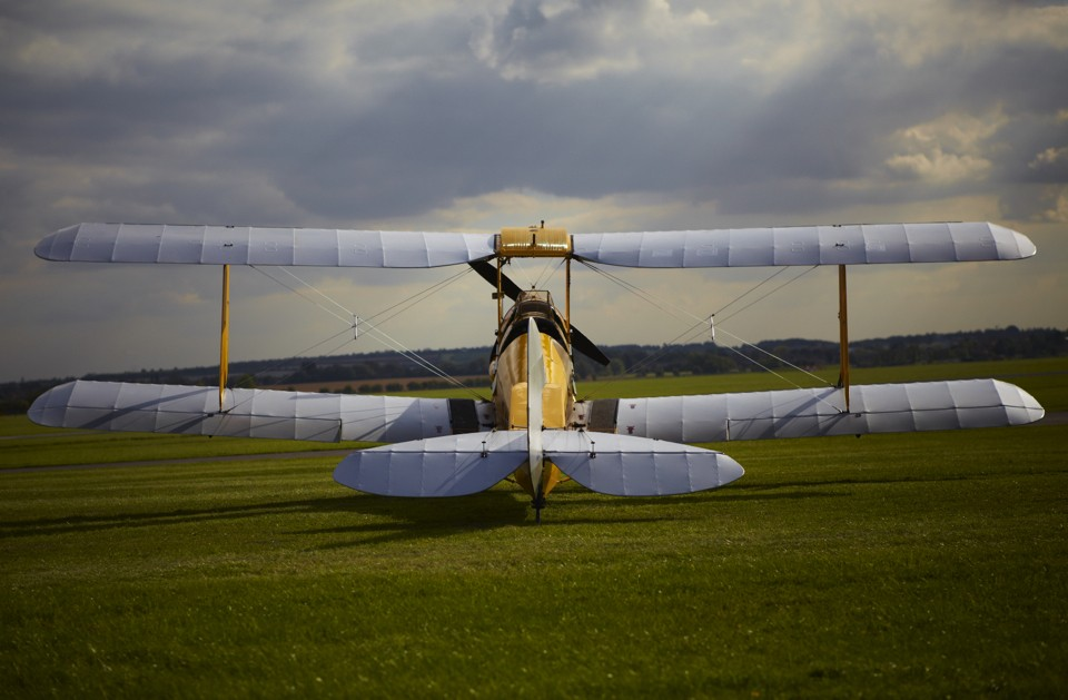 De Havilland Tiger Moth at Cambridge