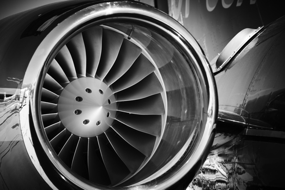 Garrett Turbofan Jet Engine