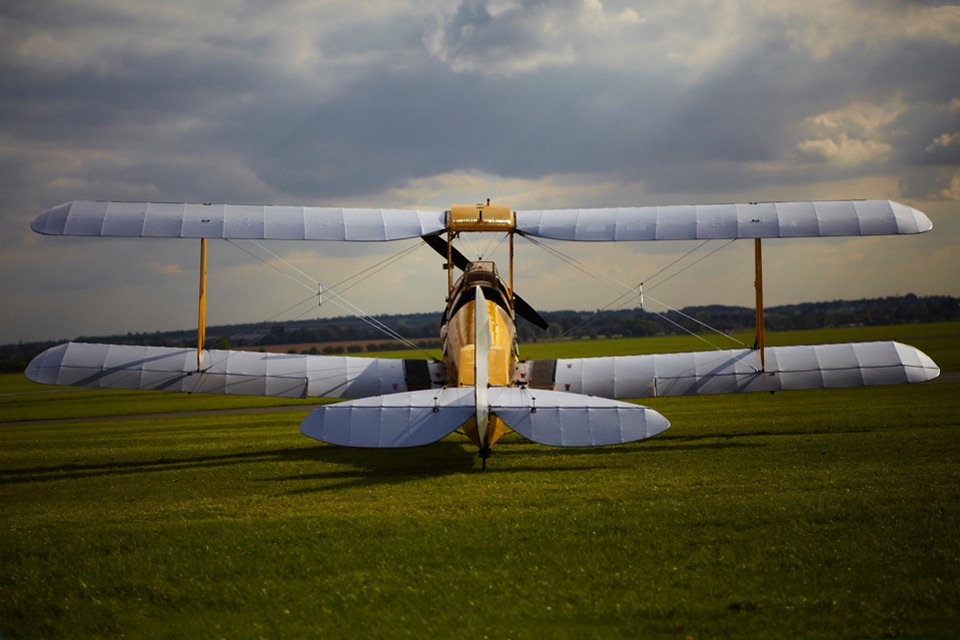 De Havilland Tiger Moth Cambridge training aircraft