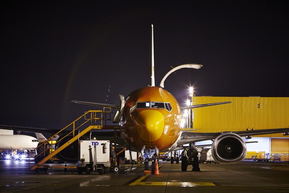 Boeing 737 Freighter at Cargolux Liége
