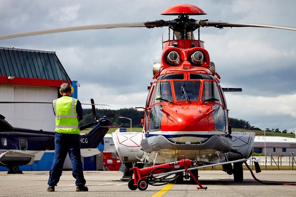 Eurocopter EC225 CHC Aberdeen