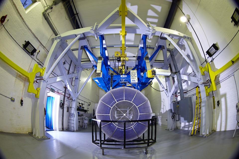 Engine test bay