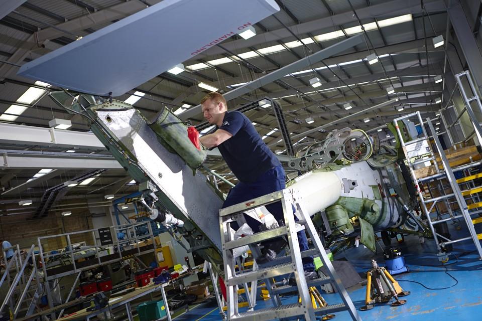 Lynx Mark 7 Tail rotor