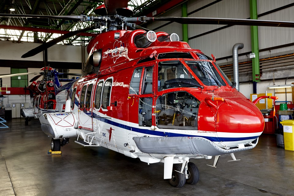 Eurocopter EC225 CHC Helicopters Aberdeen