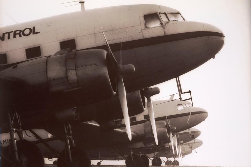 Douglas Dakota DC3 Air Atlantic's Pollution control fleet