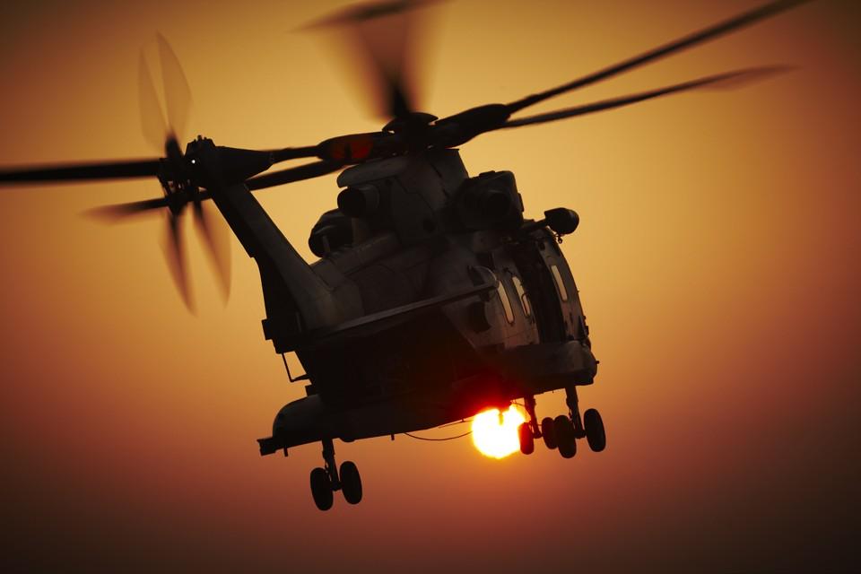 Agusta Westland Merlin RAF Benson Helicopter