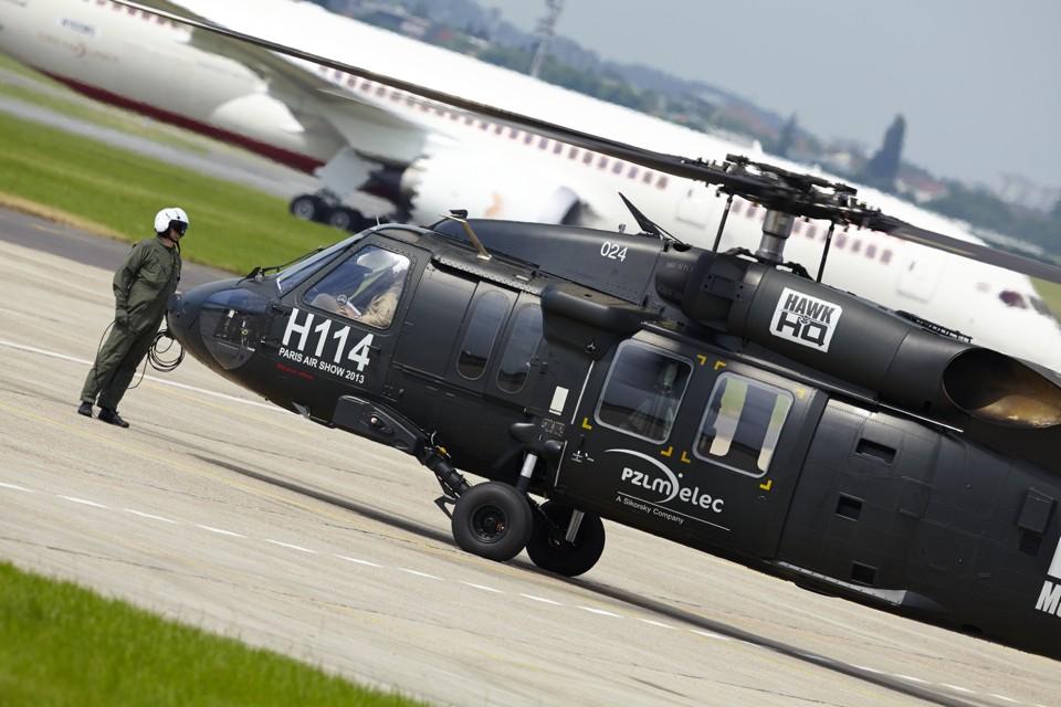 Black Hawk Demo flight