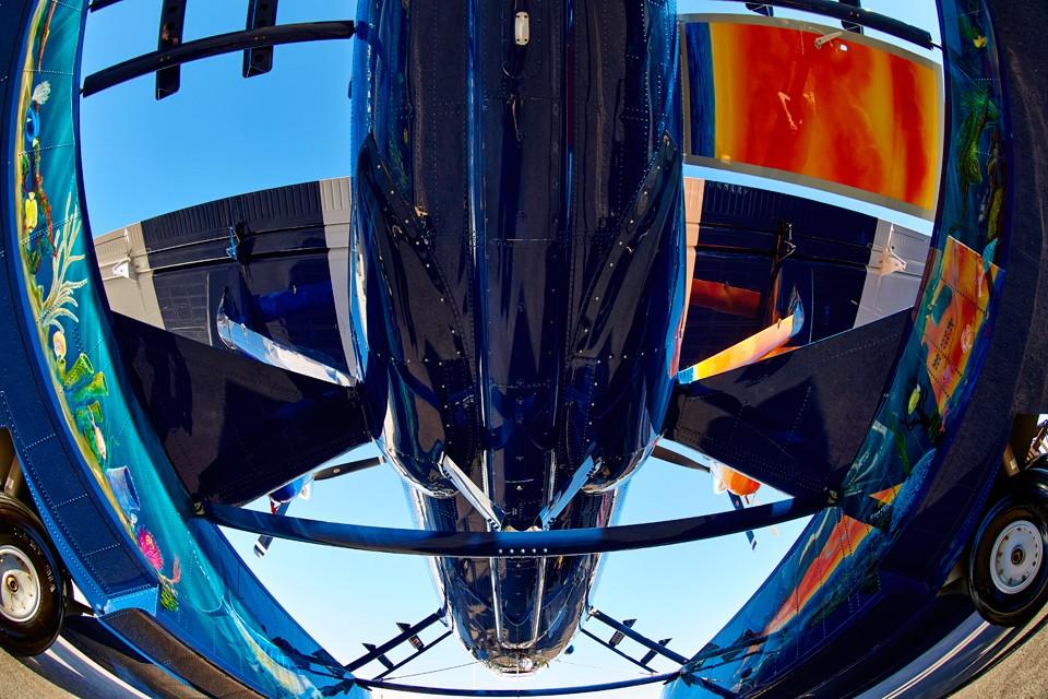 Twin Otter amphibious aircraft