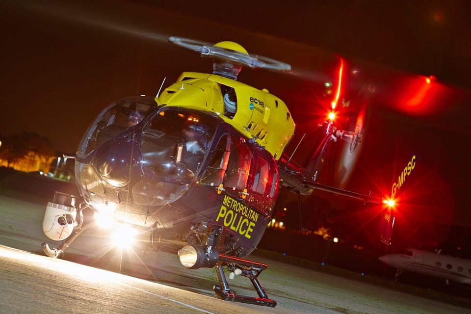 EC145 Northolt Police night-dusk shoot