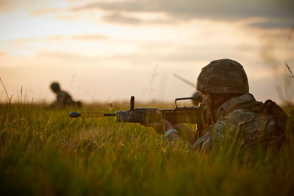 Military Exercise Porton