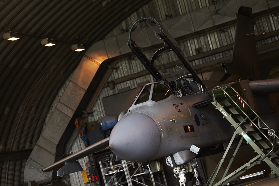Panavia Tornado GR4 Hangar 100 hour Check