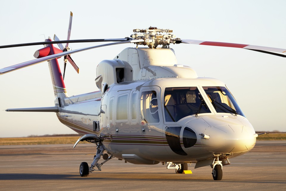 Sikorsky S76 Stansted