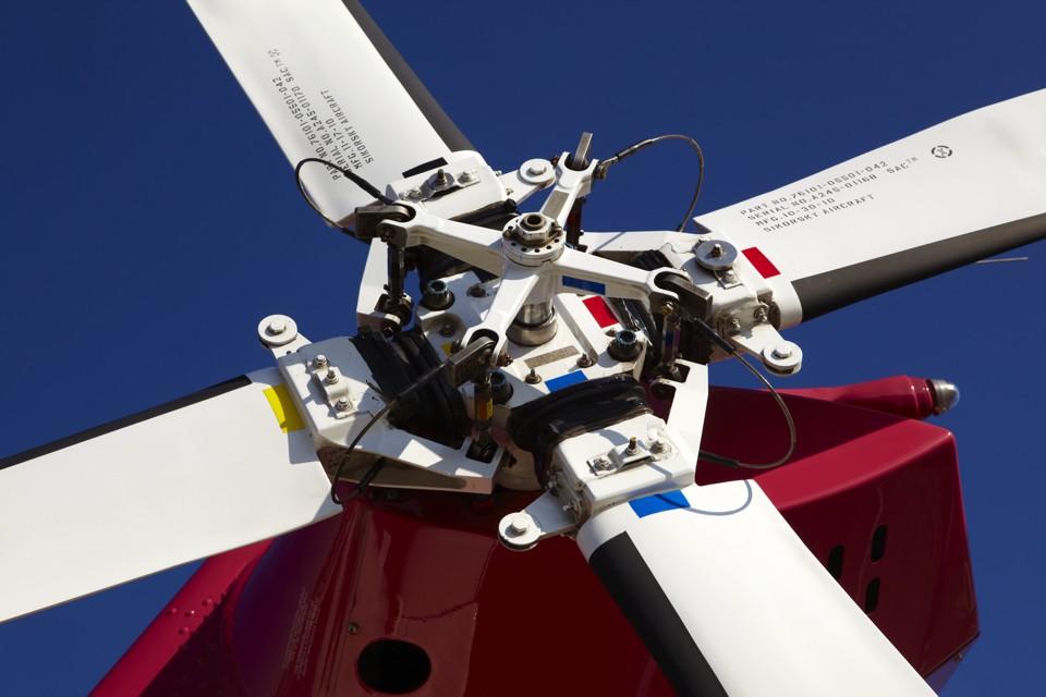 Sikorsky Rotor Head