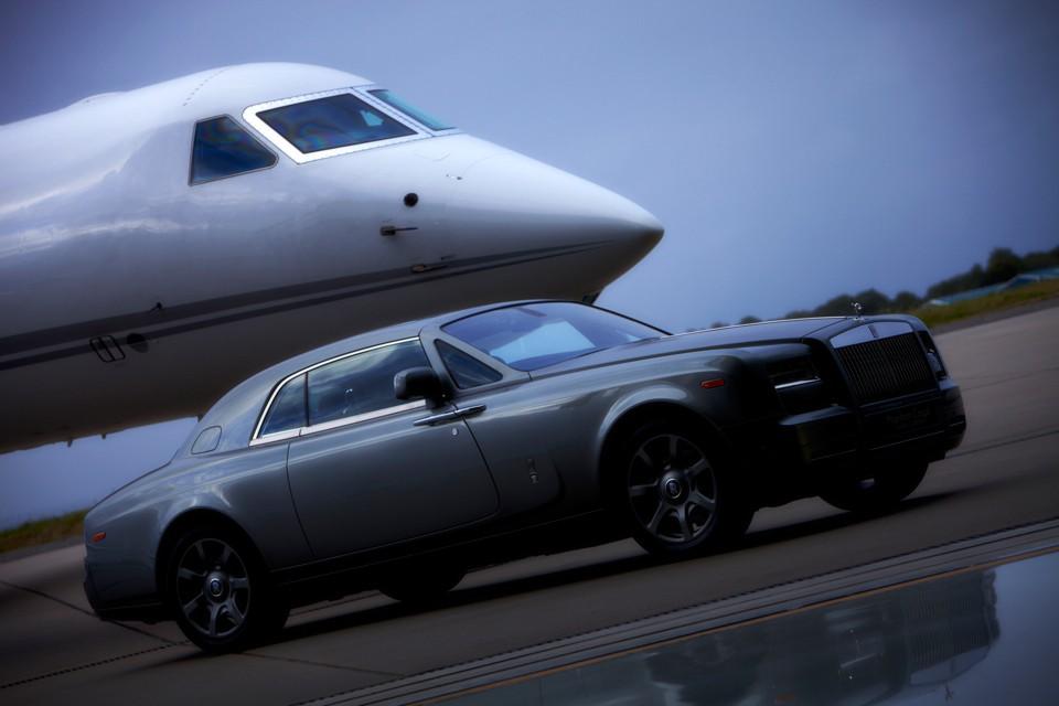 Gulfstream and Rolls Royce Biggin