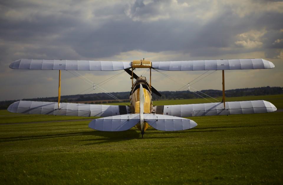 De Havilland Tiger Moth at Cambridge
