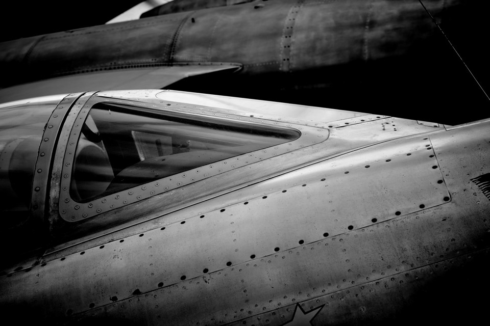 Dassault Mystere1950's test aircraft at the Le Bourget Museum