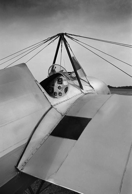 A Morane Saulnier First World War monoplane fighter aircraft