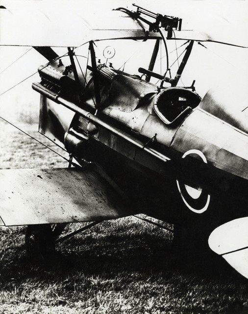RAF SE5A rproduction converted from a Belgum Stampe.