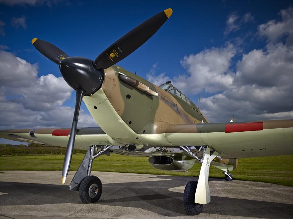 Battle of Britain 5 Kill Hawker Hurricane.