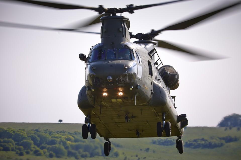 RAF Boeing CH47 Chinook